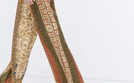 Pantalones anchos de temporada