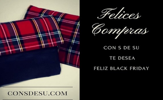 con S de Su Black Friday