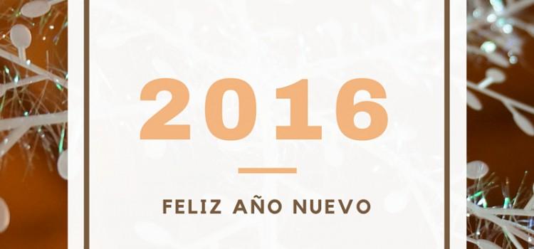 Dando la bienvenida al nuevo año 2016