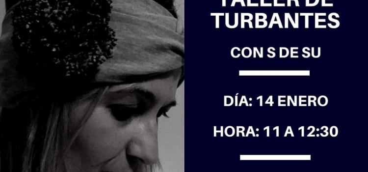 Fotos primer taller de turbantes ZAWP Bilbao
